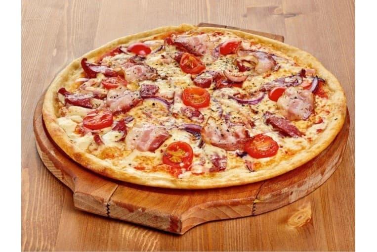 Пицца «Колбасный микс»