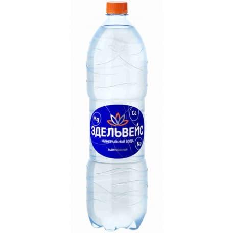 Минеральная вода «Эдельвейс» газированная 1.5 л
