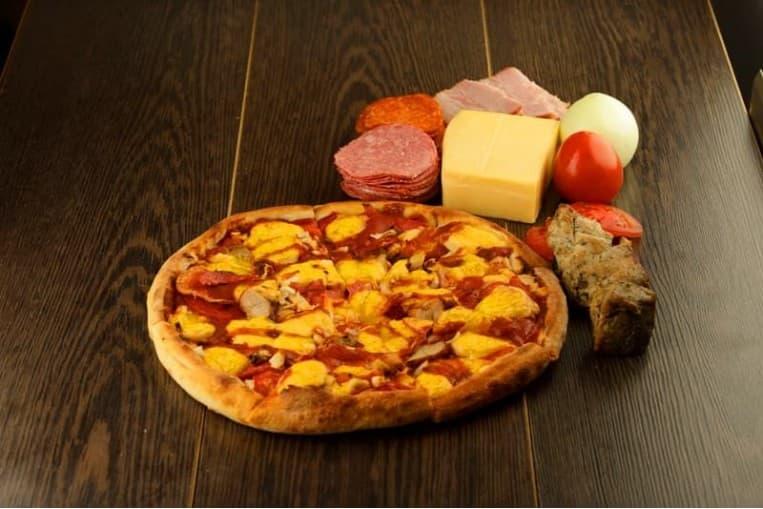 Пицца «Три Богатыря»