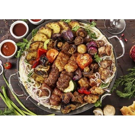 Мясная тарелка «Ассорти Кавказа»