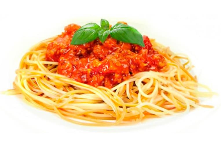 Спагетти «Болоньез» (спагетти, свинина, соус «Болоньез»)