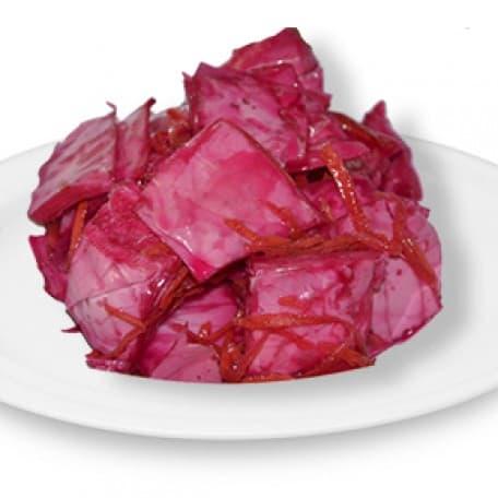 Салат «Пелюска» (капуста б/к, свекла, морковь в пикантном маринаде)