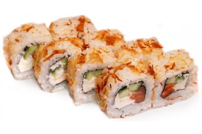 Ролл «Кудрявый лосось»