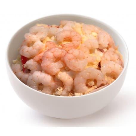 Салат «Подводное царство» с морепродуктами