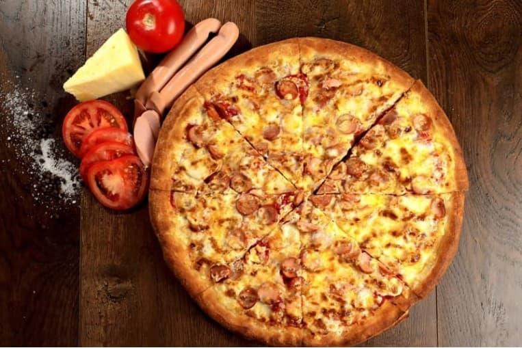 Пицца «Студенческая Барбекю» (большая)