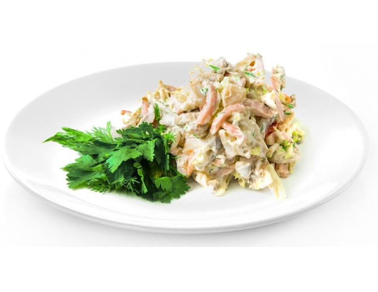 Салат «Обед Цезаря»