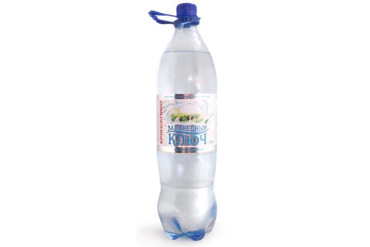 Минеральная вода «Заповедный Ключ» газированная 0.5 л