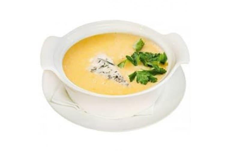 Суп«Лесная похлебка» сырный с грибами